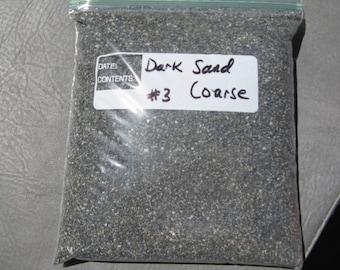 3lbs. Dark Beach Sand, Project Sand,Wishing Sand, Wedding Decor