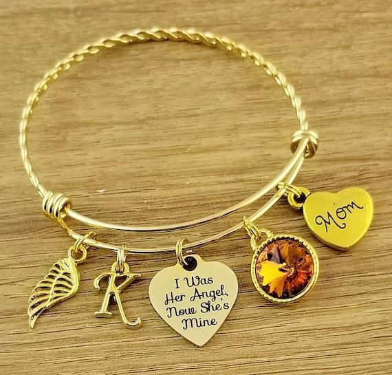 Gold Sympathy Bracelet Sympathy Gift In Memory of Mom Memorial Bracelet Loss of Mom Remembrance Bracelet Remembrance Jewelry Loss of Mother