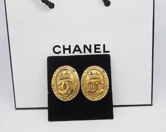 Chanel Ohrclips Vintage 1981