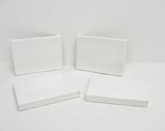 "Mini artist canvas, ACEO sized canvas, 2 1/2"" x 3 1/2"" canvas, set of 4"