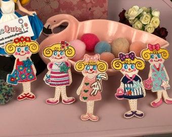 Mini Qute Collection - Cute girl series ~ take them all - 5 pcs