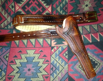 Custom Made to Order holster and gun belt