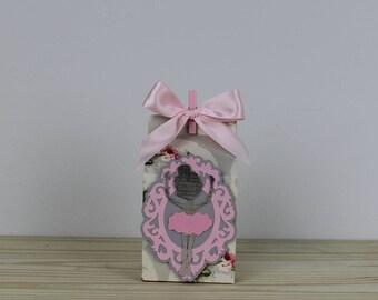 Ballerina Favor Box- 12