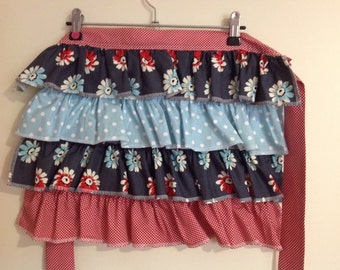 Girls Ruffled Apron