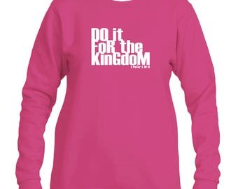 Do it for the Kingdom V2 Women's Sweater