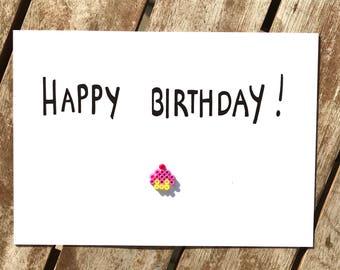 funny birthday card - happy -birthday - celebration - girlfriend card - cupcake- birthday card friend - boyfriend card