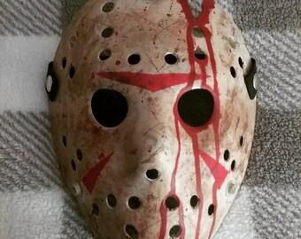 Blood Splattered Mask - FearsomeMasks
