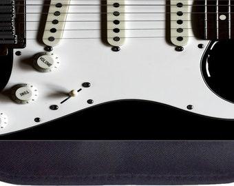Electric Guitar Black Pencil Bag - Pencil Case