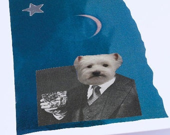 Card - Gentleman Westie