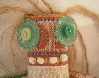 Miz Wankel - ooak Skaerrenvolk cloth art doll