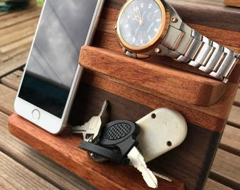 Smartphone, Watch, Key Holder