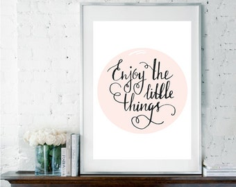 Calligraphy poster etsy