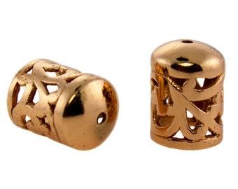 Copper End Caps 7.0mm (Pkg of 2)  (6005CU-02)