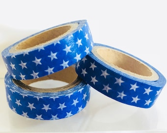 Blue Stars Washi Tape