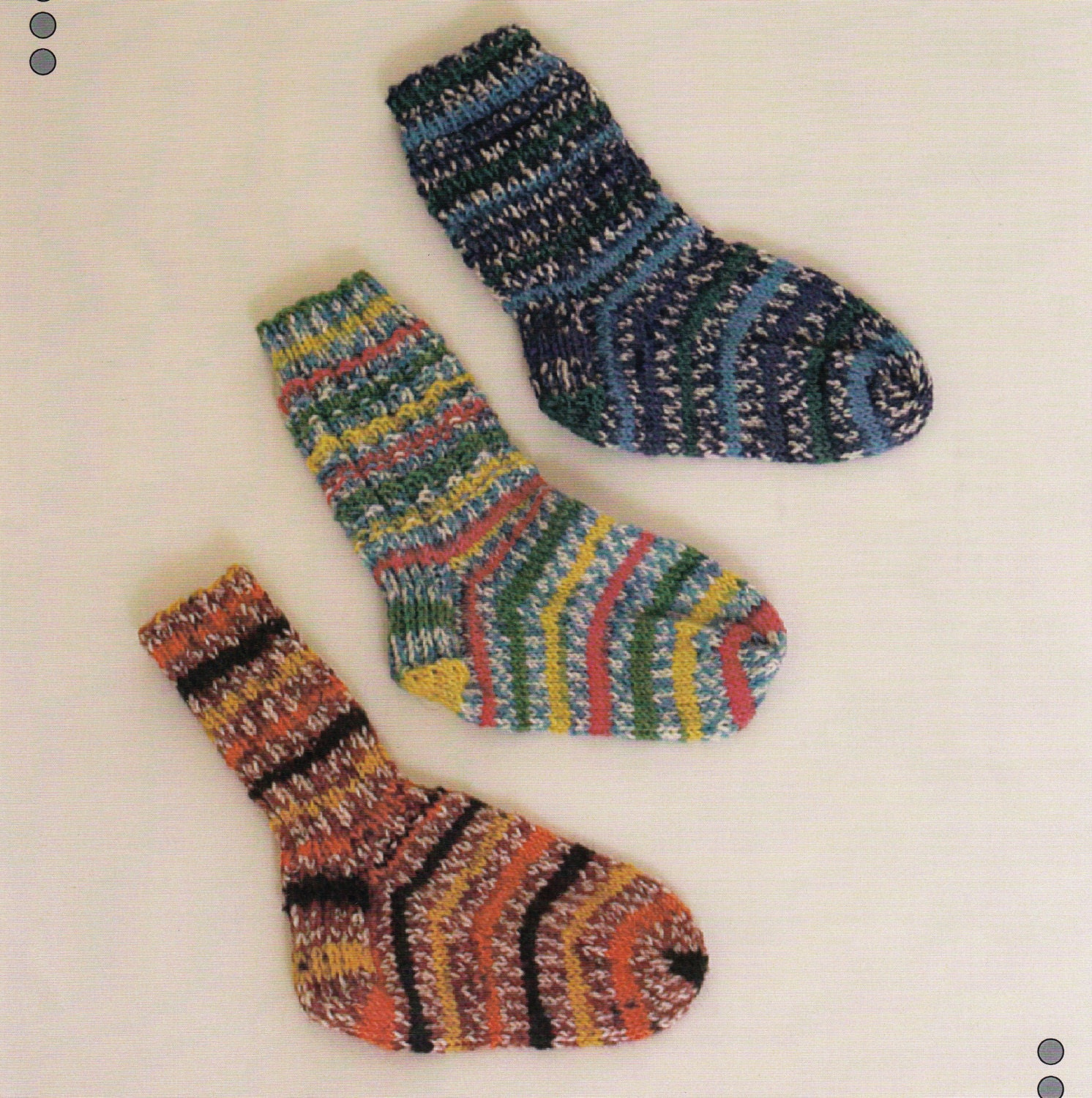 Knitted Ribbed Socks Pattern Baby & Kids Forever Jacquard