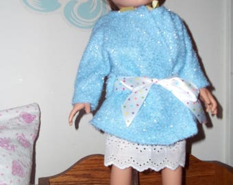 """18"""" doll Nightgown and Robe set 320E"""