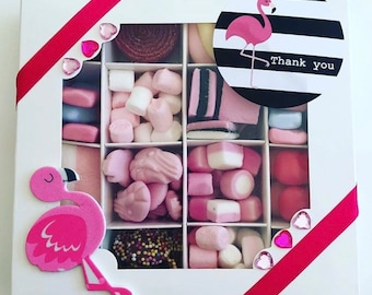 Flamingo Sweet Gift Box