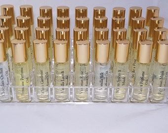 Roll-ON Perfume, Perfume Oil 10ml, Vegan, Natural, Alcohol Free
