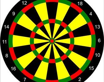 Outdoor Archery Dart Target