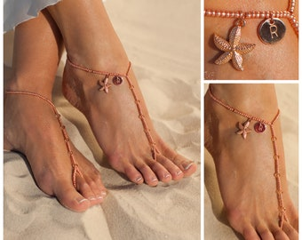 Gold foot jewelry Etsy