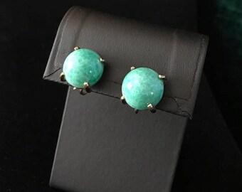 CLEARANCE SALE Vintage Jadite Earrings