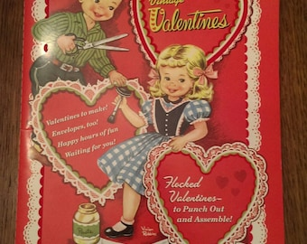 Random House Reproduction Book of Vintage Flocked Valentine's