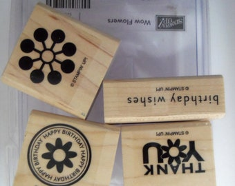Wow Flowers Stamp Set