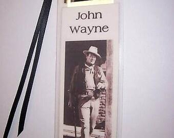 JOHN WAYNE  Movie Memorabilia Film Cell Bookmark …