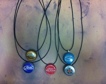 Beer Top Necklace