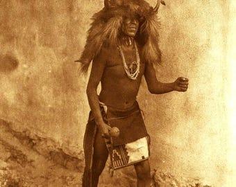 Native American Zia Dancer digital Image