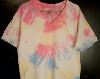 Pastel V Style Tye Dye XL