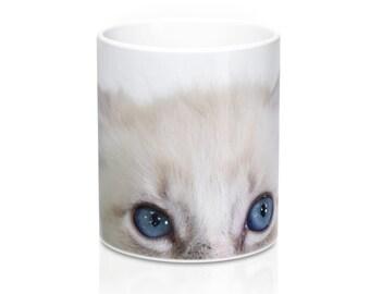 Lucy Peeking Mug