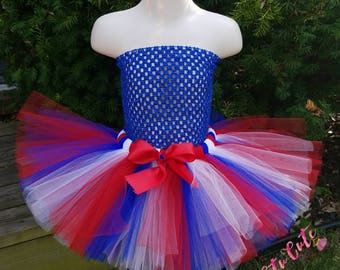 Red White and Blue Tutu, 4th of July Tutu, Holiday Tutu, Photography Prop