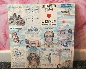 Lennon Plastic Ono Band 'Shaved Fish' Vinyl