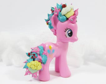 Custom G4 My Little Pony Pinkie Pie with Frosting Mane and Tail
