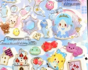 Little fairy tale sticker by qlia Alice in Wonderland