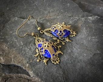 Medieval Cross Earrings, Medieval Earrings, Cross Earrings, Celtic Earrings, Celtic Cross Earrings, Coptic Cross Earrings, Crosses, Medieval