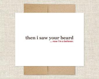 I'm a Beard Believer Card