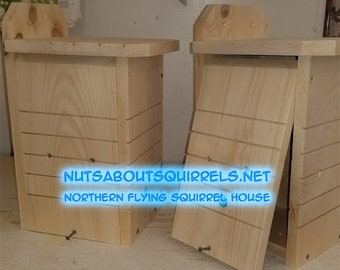 Northern Flying Squirrel House