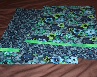 Bold Blues Pillowcase Set