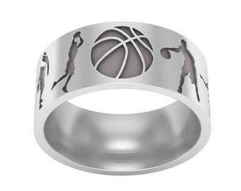 Sports wedding ring Etsy