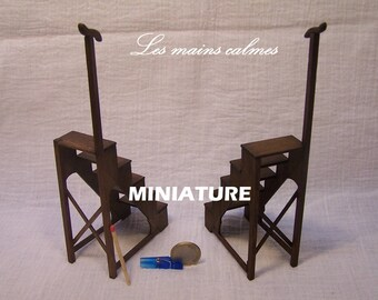 Miniature Library stepladder