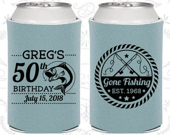 50th Birthday, 50th Birthday Favors, Unique Party Favors, Fisherman Birthday, Fishing Birthday Favors, Birthday Party Favors (20279)