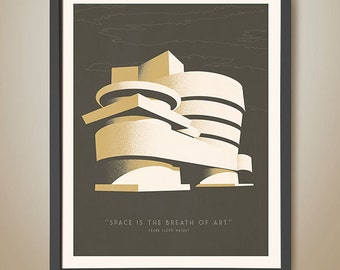 Guggenheim - Frank Lloyd Wright quotes