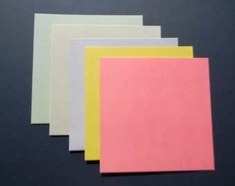 """Set of 6"""" X 6"""" Card Bases by Designer Anna Griffin with Envelopes (101)"""