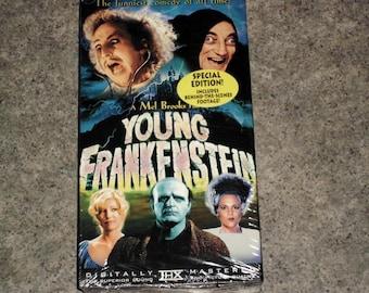 Vintage 80s VHS Movie - Young Frankenstein - Gene Wilder - 20th Century - Sealed