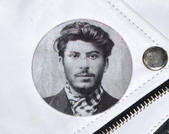 Stalin Mugshot Badge
