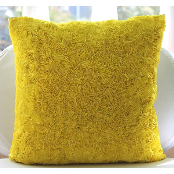 minimalist abstract decorative yellow modern geometric sofa throw decor pillows