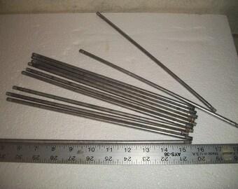 12 aluminum rods