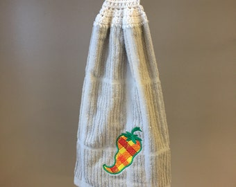 Hot Pepper Hanging Towel3